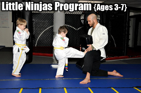 Little Ninjas Martial Arts Program
